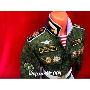 Форма № 004 (Сухопутные войска)
