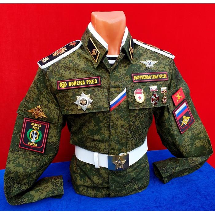 Зимняя парадная форма войск рхбз фото