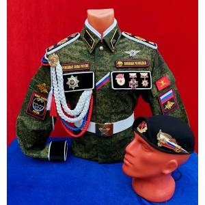 Дембельская военной разведки № 217